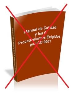 ISO 9001 elimina los documentos tipo